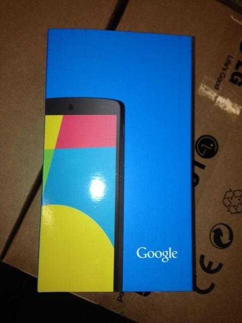 Nexus 5: nuove immagini della confezione e specifiche svelate!