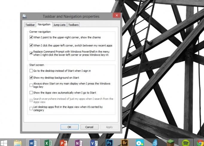 Windows 81 Desktop