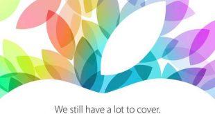 Apple inizia a spedire gli inviti per l'evento del 22 Ottobre! iPad 5 ed iPad Mini 2 in arrivo