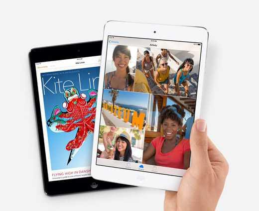 Apple iPad mini 2 è ufficiale: display Retina, chip di A7 a 64 bit e 1GB di RAM