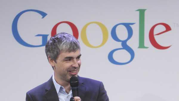 Larry Page da un riferimento su uno smartwatch nella sua ultima apparizione!
