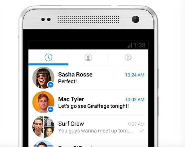 Facebook: al via i test per Messenger, nuovo look e accesso più rapido