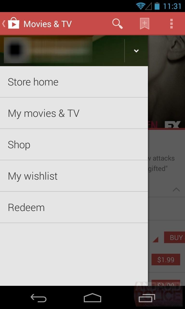 Google Play Store 4.4   Arrivano le prime immagini del nuovo market Android