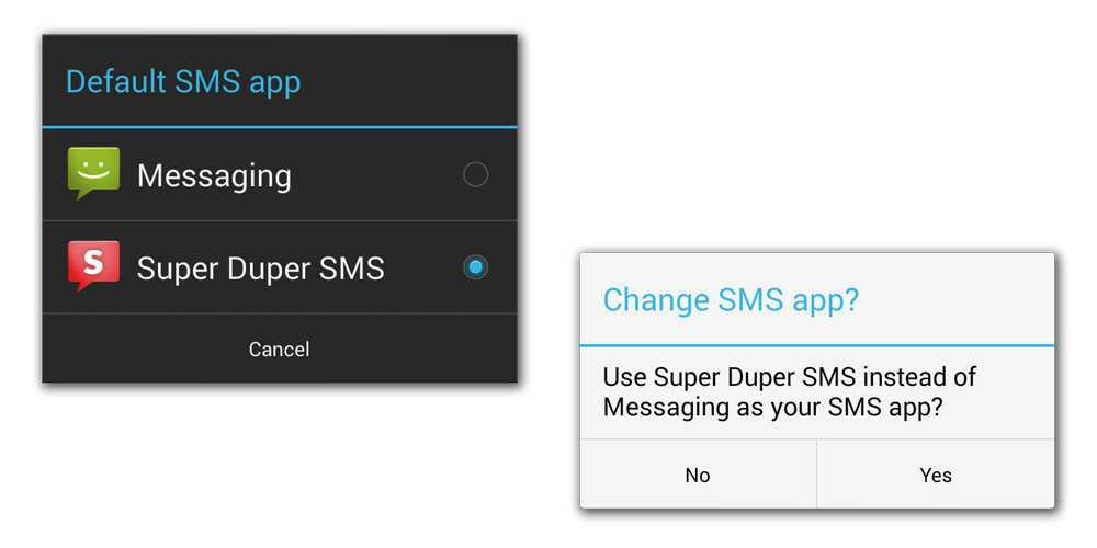 Importanti cambiamenti per gli SMS in Android KitKat