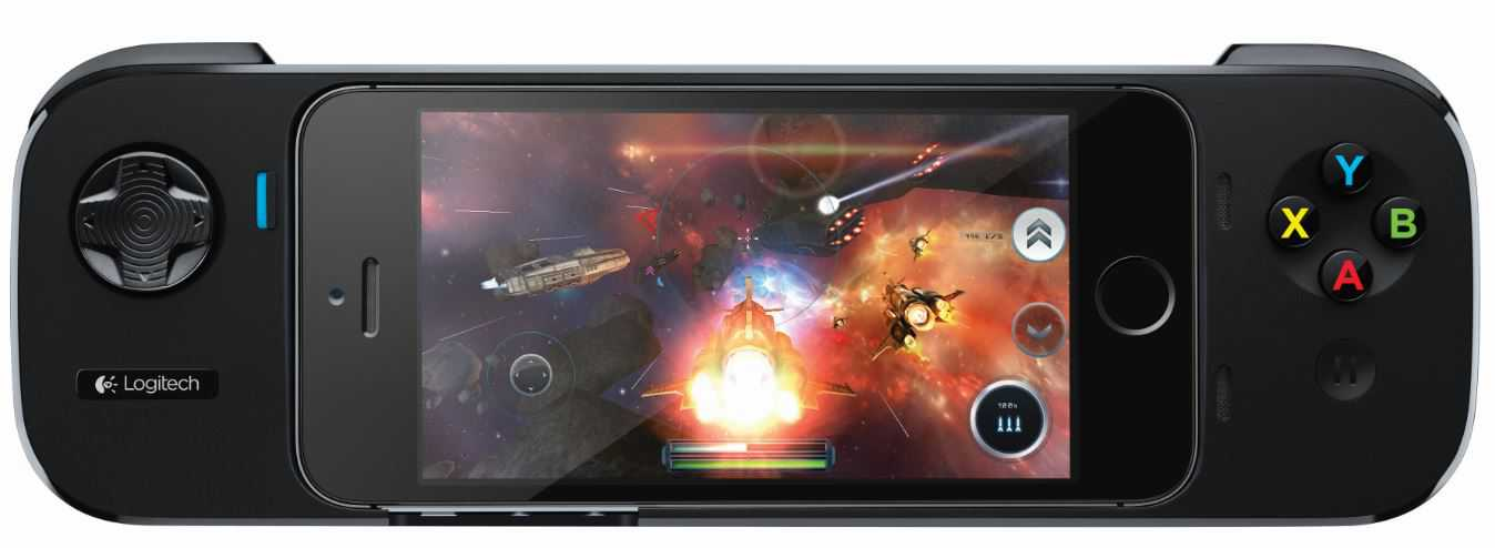 Logitech Powershell Controller + Battery   Il controller gaming per iPhone 5s, iPhone 5 e iPod touch