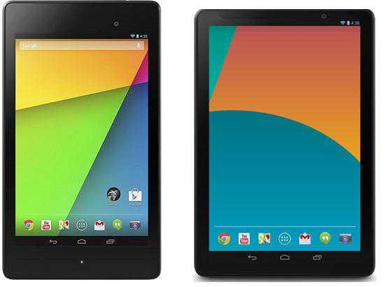 Nexus 7 & Nexus 10 Android 4.4