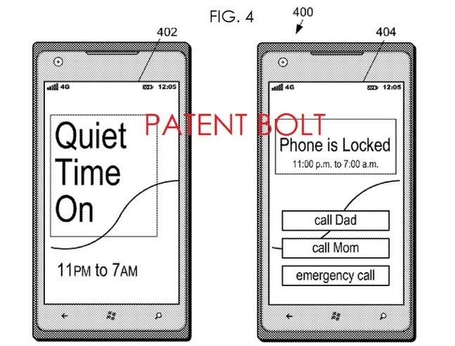"""Microsoft brevetta la funzione """"Quiet Time"""" per il blocco dello smartphone"""