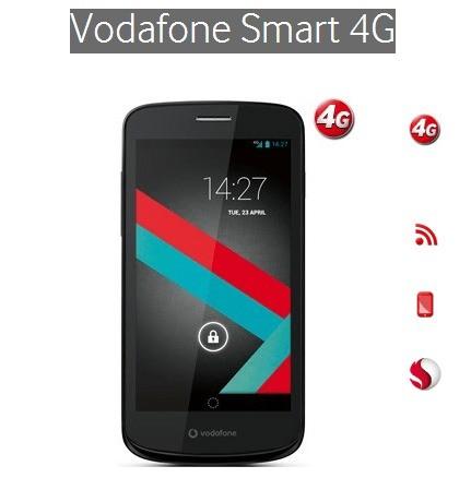 Nasce Vodafone Smart 4G