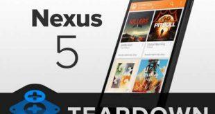 iFixit smonta il Nexus 5, con un buon punteggio…