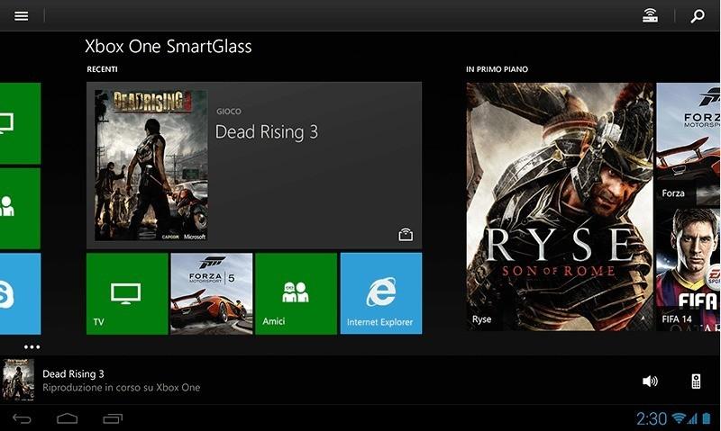 Microsoft rilascia l'applicazione Xbox One SmartGlass per Android! Pronti per la console next generation?