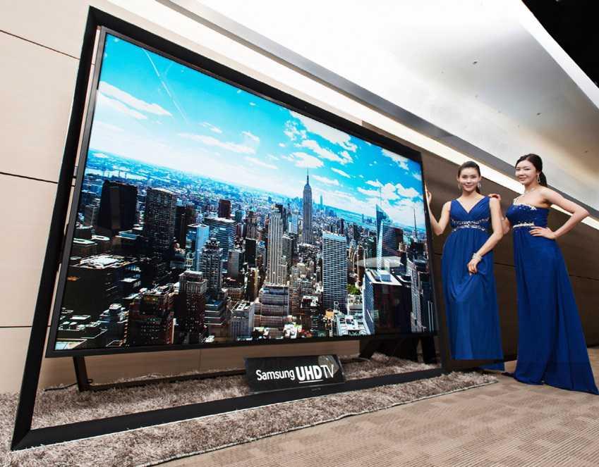 110 pollici Ultra HD TV di Samsung, presto in vendita