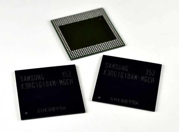 Samsung sviluppa RAM LPDDR4, presto dispositivi con 4 GB