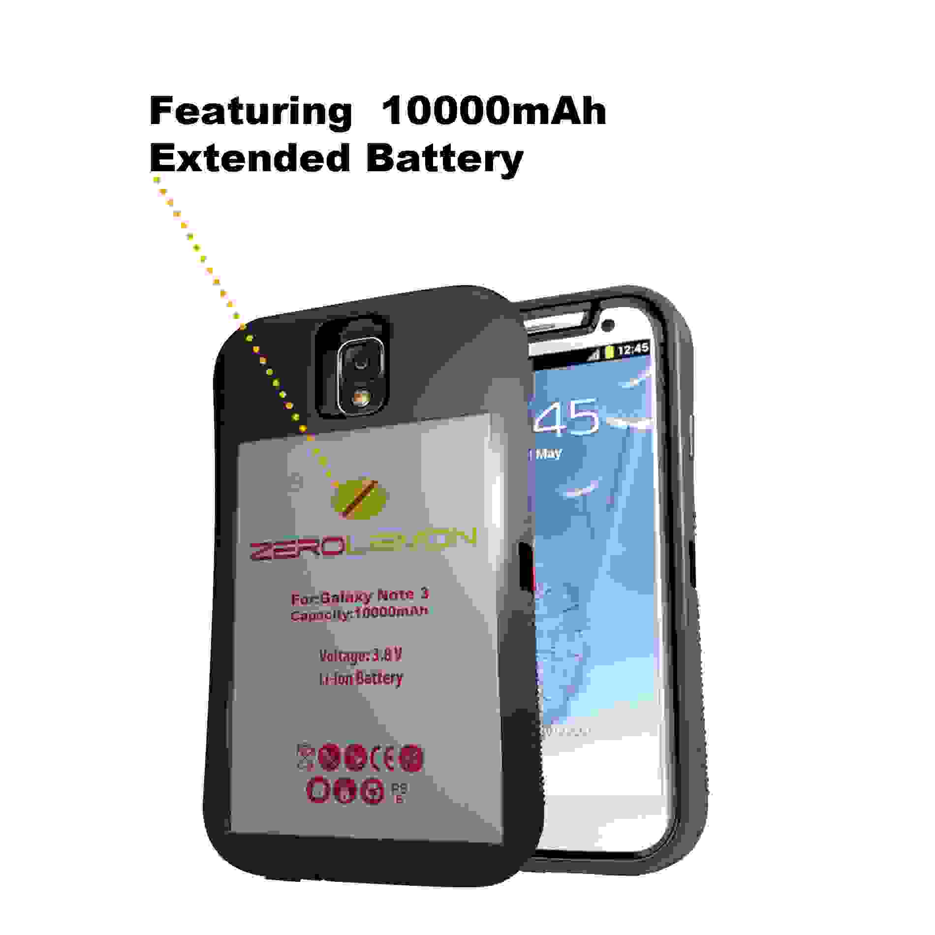 Samsung Galaxy Note 3 arriva la batteria da 10,000 mAh