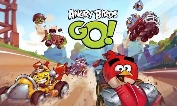 Angry Birds Go! disponibile sul Play Store e sull'Apple App Store!
