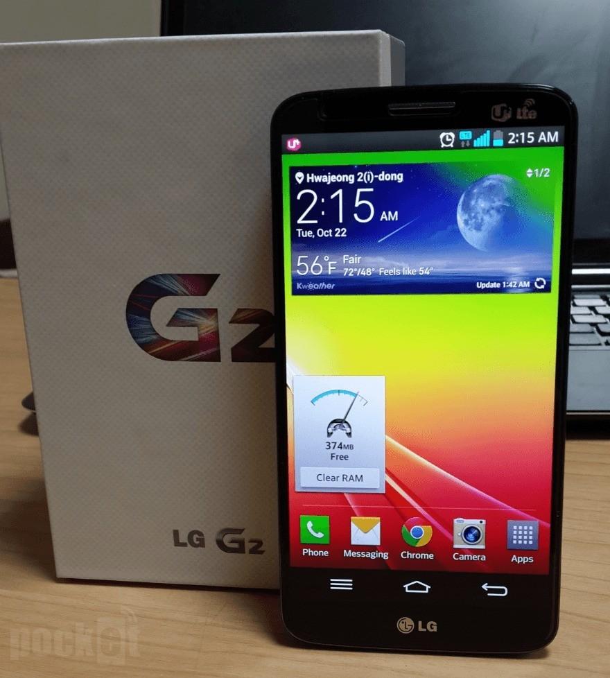 LG G2 si aggiorna a Android 4.4 | si inizia in Corea