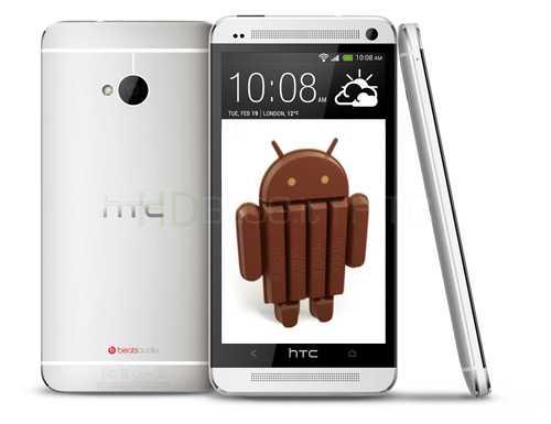 HTC One | Iniziato negli USA il rilascio di Android 4.4 KitKat e Sense 5.5