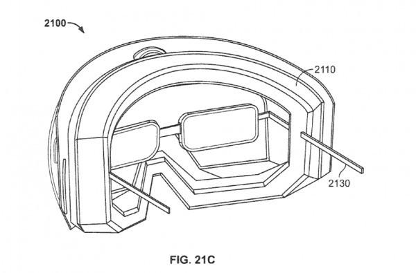 Apple brevetta occhiali con display integrato