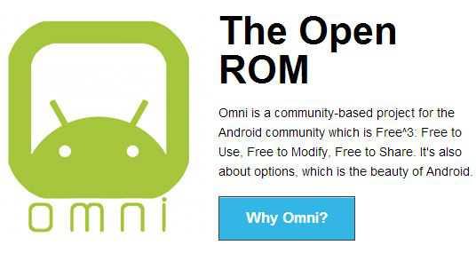 OmniROM Android 4.4 KitKat| Arriva il supporto per altri 6 dispositivi