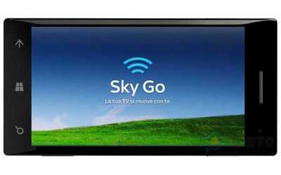 SkyGo arriva su Windows Phone