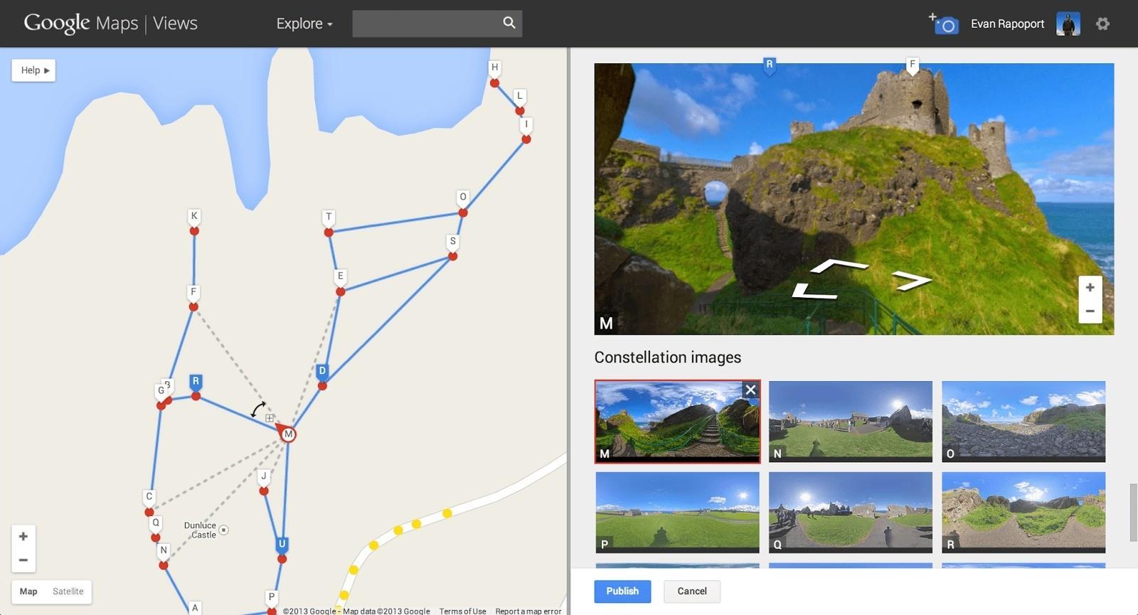Crea il tuo Street View con PhotoSfere