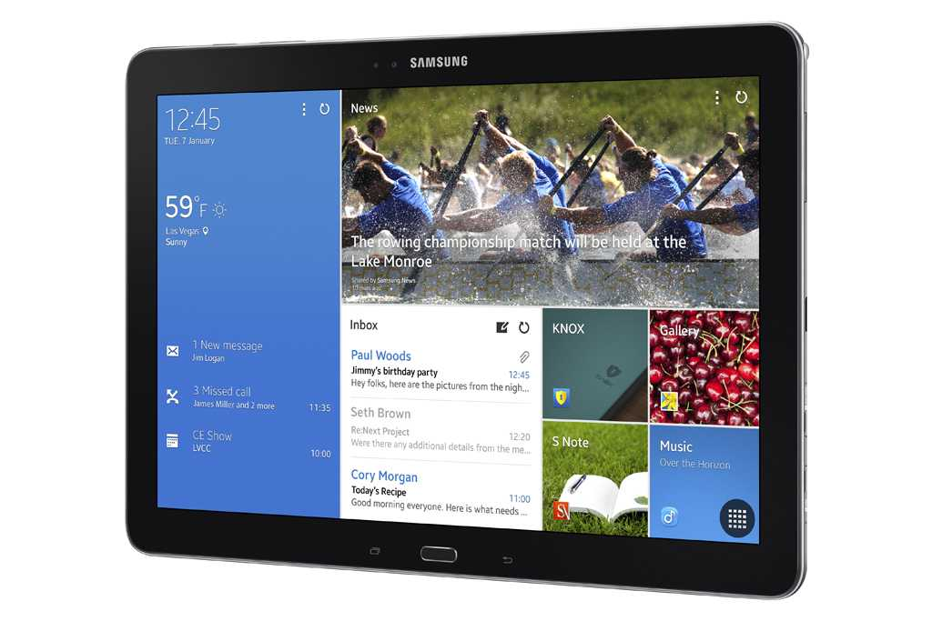 Samsung ufficializza i nuovi Galaxy Tab Pro 8.4, 12.2 e Note Pro 12.2 !