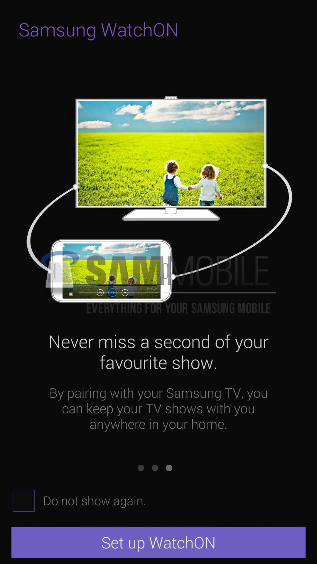 Nuova interfaccia per Samsung WatchON