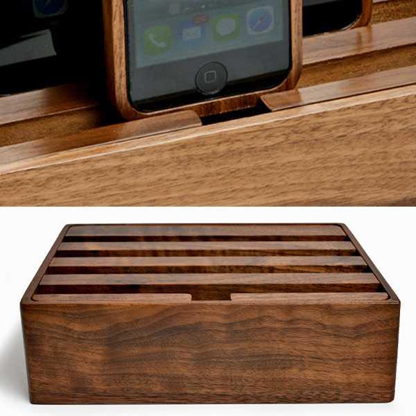 All-Dock   In arrivo il caricabatteria ultra rapido per 6 dispositivi Android/iOS!