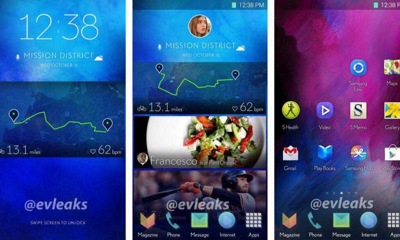 Nuova interfaccia utente Samsung trapelata. Sarà quella per il Galaxy S5?