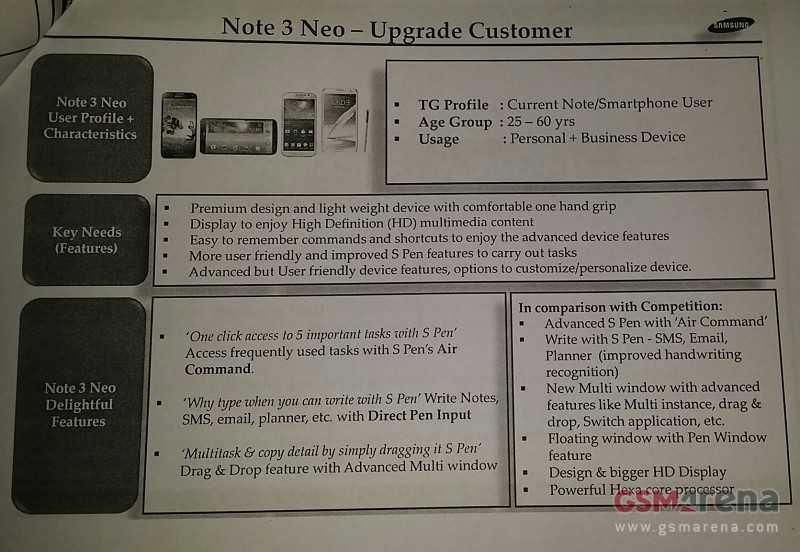 Galaxy Note 3 Neo | Trapelano le specifiche del primo smartphone esa-core Samsung!