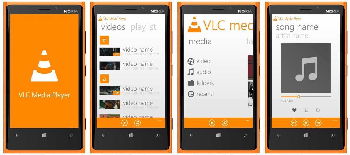 VLC per Windows Phone: trapelano nuove immagini