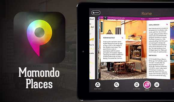Momondo Places l' App per iPAD fatta per i viaggiatori