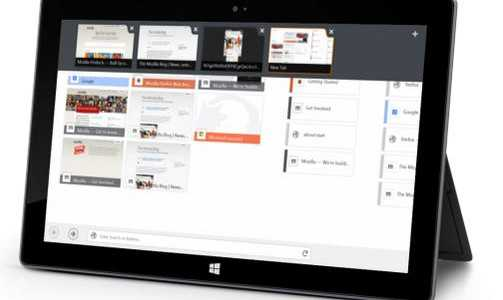 Firefox Touch Beta arriva su Windows 8/8.1 | Il browser perfetto per tablet e notebook touch?