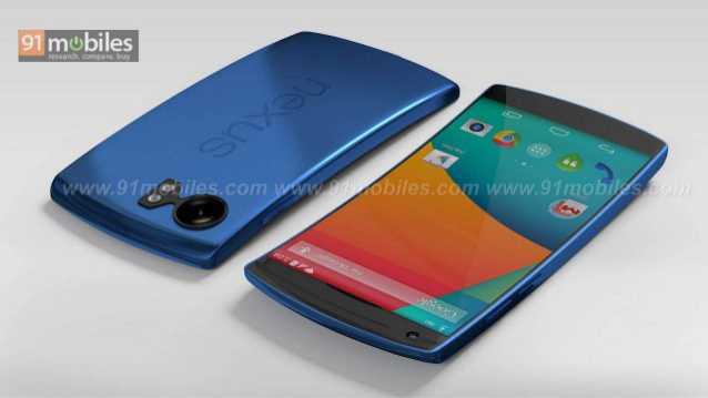 Google Nexus 6: arriva un concept colorato e con schermo curvo