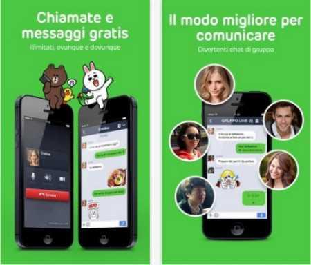 Line si aggiorna su iOS portando diverse novità