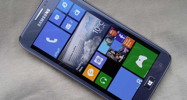 Samsung SM-W750V: un Windows Phone per Verizon