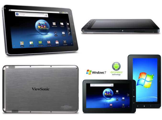 ViewSonic lancia un tablet con doppio boot Android/Windows