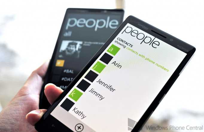 Differenze tra Windows Phone 8.1e Windows Phone 8.0