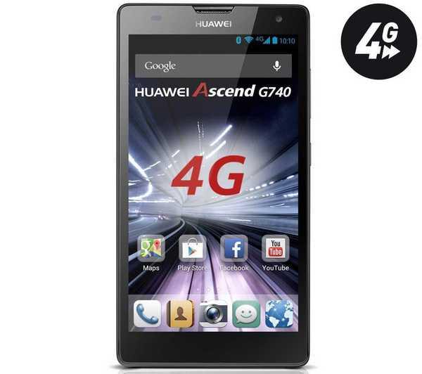 Huawei presenta l'Ascend G740 4G