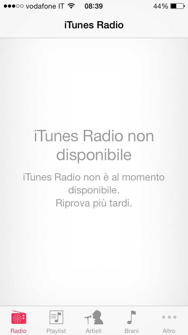 ITunes Radio é pronto lo sbarco per l'Italia?