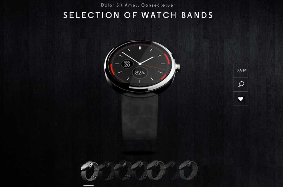 Moto 360   Sarà disponibile in diversi materiali e cinturini