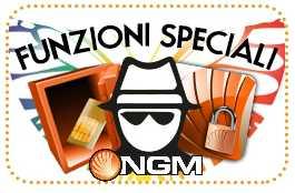 NGM annuncia l'Area privè e le Funzioni Speciali