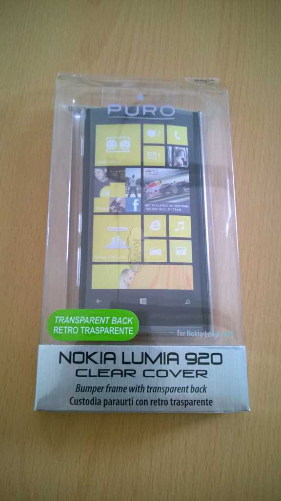Custodia Puro Nokia Lumia 920