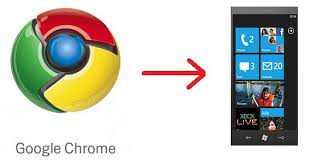 Google sta pensando a Chrome per Windows Phone