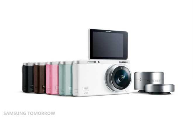 Galaxy NX Mini   Arriva da Samsung la fotocamera dedicata ai selfie