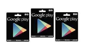 Arrivano in Italia le Carte Regalo del Google Play Store!