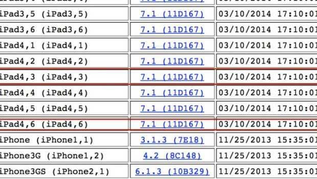 iOS 7.1: trovati i riferimenti a due iPad inesistenti, per il momento..