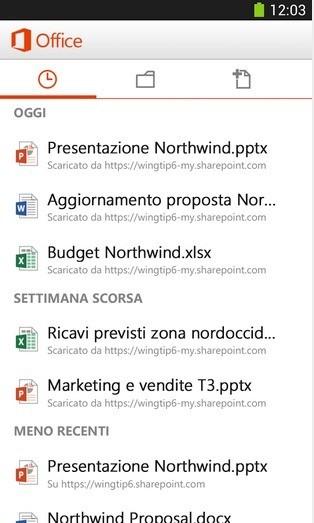 Microsoft Office Mobile arriva anche su Android gratuitamente!