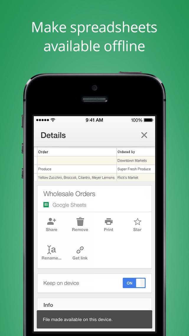 Google rilascia le app Documenti Google e Fogli Google per Android ed iOS
