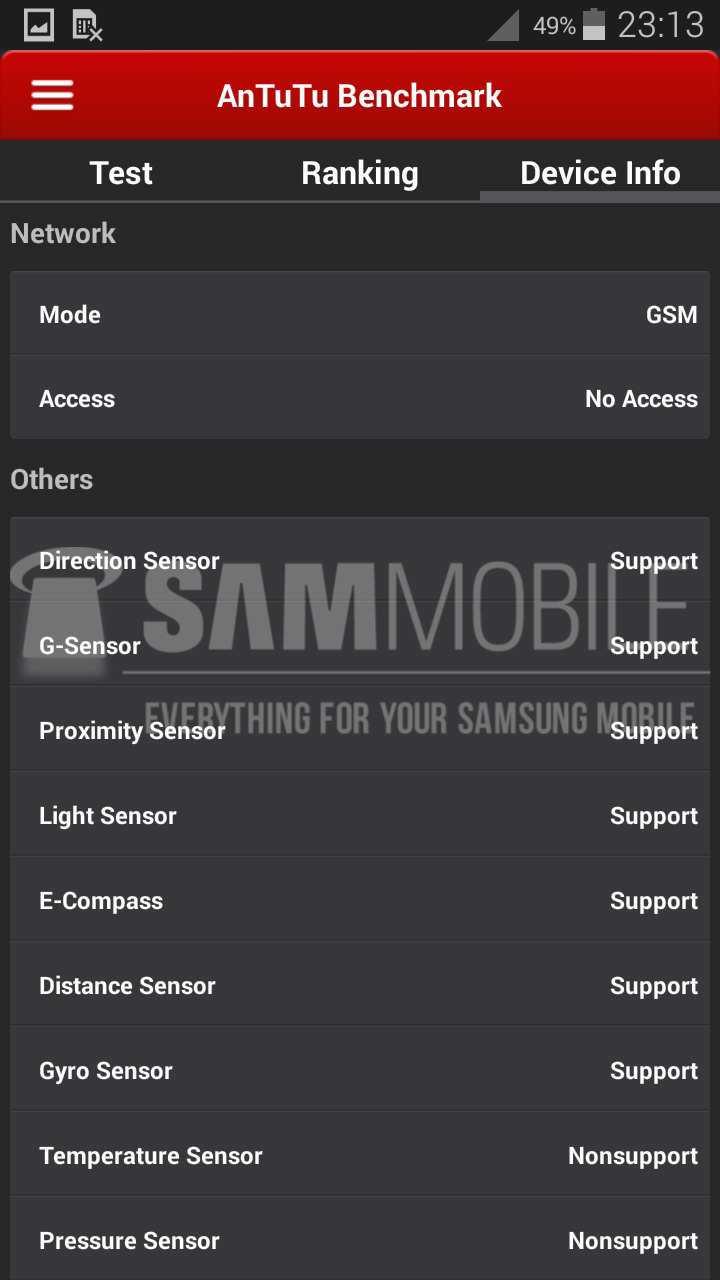 Samsung Galaxy S5 Zoom: caratteristiche tecniche e benchmark AnTuTu