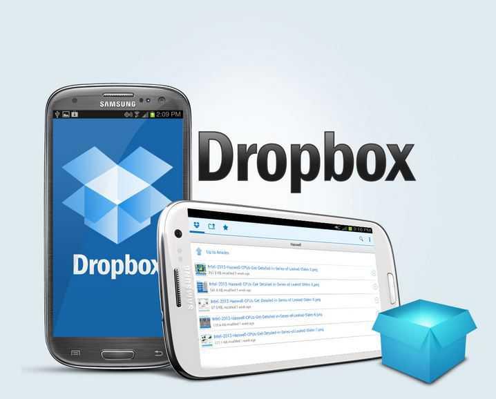 Dropbox per android si aggiorna: nuove icone e collegamenti più facili con il PC